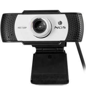 Webcam con micrófono Ngs XPRESSCAM720 - 1280*720 - campo visual 60º - base - XPRESSCAM720
