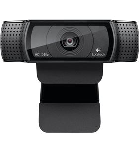 Webcam Logitech hd pro c920 - lente cristal full hd - grabaciones 1080p - a 960-001055 - LOG-WEB HD PRO C920 NE