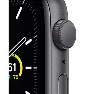 Apple watch se 44mm gps caja aluminio gris espacial con correa negra sport MYDT2TY/A - MYDT2TYA