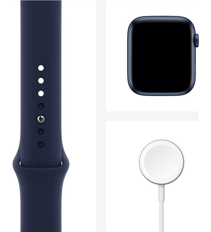 Apple M09A3TY/A watch s6 44mm gps cellular caja aluminio azul con correa azul marino - 85936640_6189505283