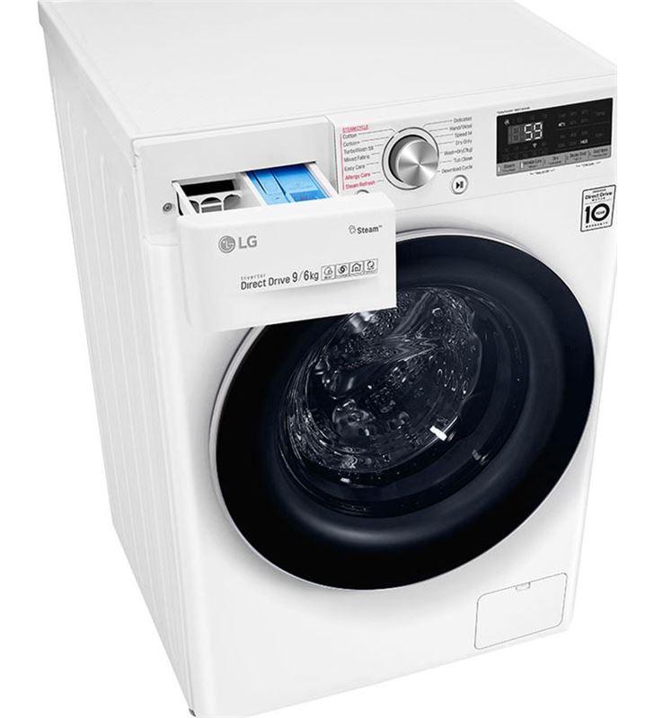 Lg F4DV5009S1W lavadora secadora clase a 9+6 kg 1400 rpm - 87316493_2301044961