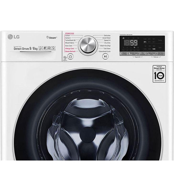Lg F4DV5009S1W lavadora secadora clase a 9+6 kg 1400 rpm - 87316493_9801330279