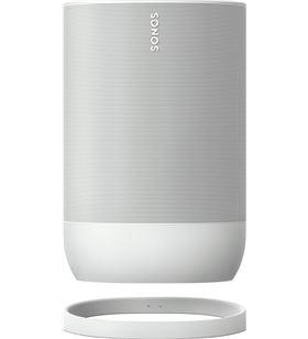 Sihogar.com sonos move blanco altavoz inteligente ip56 con batería wifi bluetooth con a move white - +23302