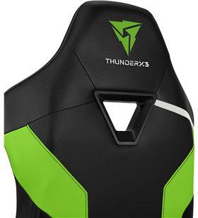 Silla gaming Thunderx3 tc3/ verde neón TC3BG Sillas - 86204055_7823211633