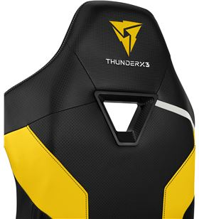 Silla gaming Thunderx3 tc3/ amarilla abejorro TC3BY - 86204001_0087906992