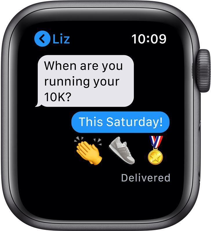 Apple watch se 40mm gps caja aluminio gris espacial con correa negra sport MYDP2TY/A - 85937369_5162758614