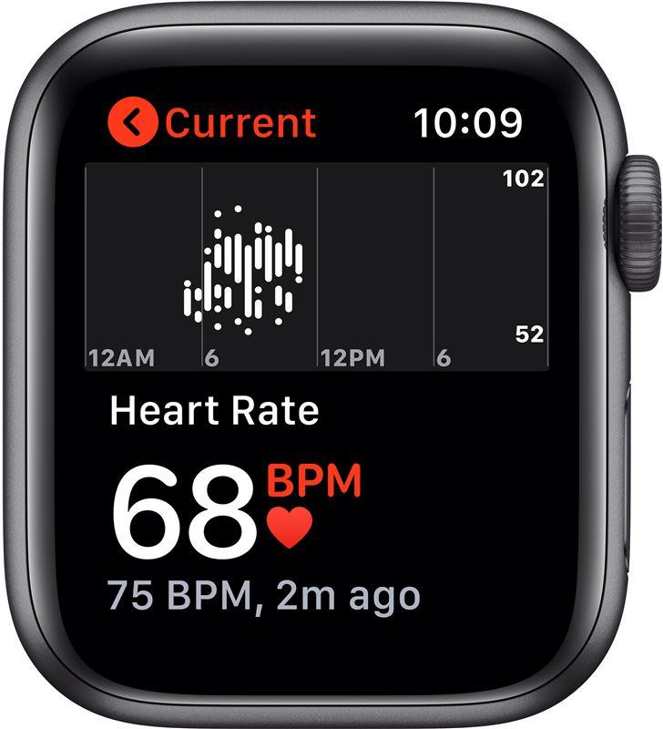 Apple watch se 40mm gps caja aluminio gris espacial con correa negra sport MYDP2TY/A - 85937369_3398077894