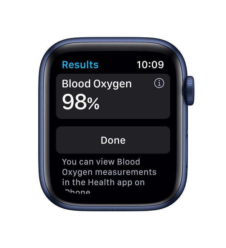 Apple M09A3TY/A watch s6 44mm gps cellular caja aluminio azul con correa azul marino - 85936640_9076725139