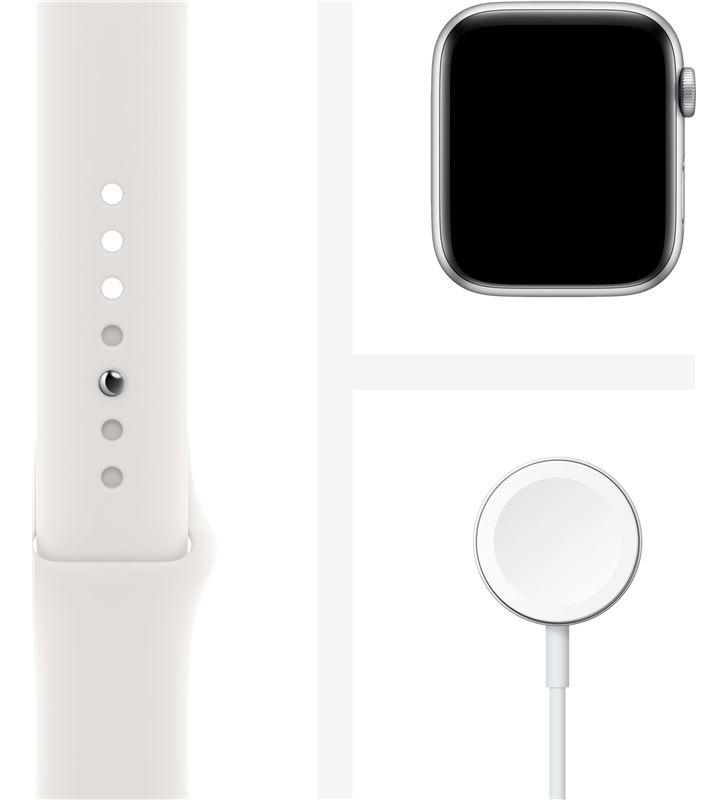 Apple watch s6 44mm gps cellular caja aluminio con correa blanca sport band MG2C3TY/A - 85936632_0048931238