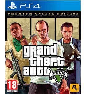 Juego para consola Sony ps4 grand theft auto v premium edition PS4 GTA5 PE - PS4 GTA5 PE