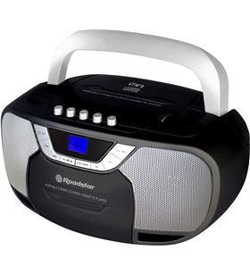 Sihogar.com radio cd roadstar rcr-4625nu/bk negro - 2*2w rms - cd/r/rw/mp3- fm - usb/au - RCR-4625NUBK