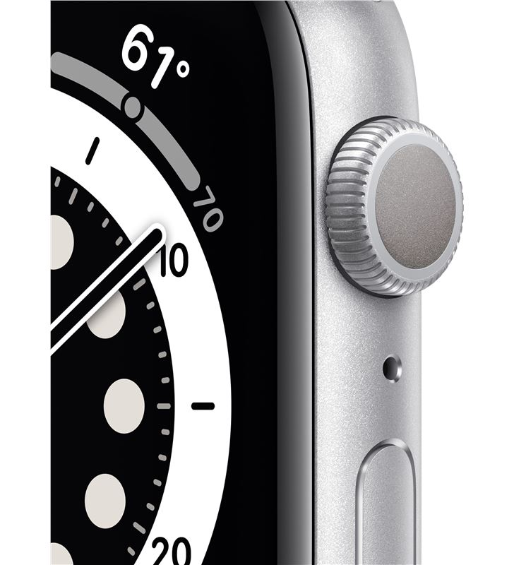 Apple watch s6 40mm gps caja aluminio con correa blanca sport band - mg283t MG283TY/A - 85936630_1453789118