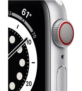 Apple watch s6 40mm gps cellular caja aluminio con correa blanca sport band M06M3TY/A - M06M3TYA