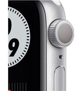 Apple watch s6 40mm gps nike caja aluminio con correa platino puro y negro M00T3TY/A - M00T3TYA