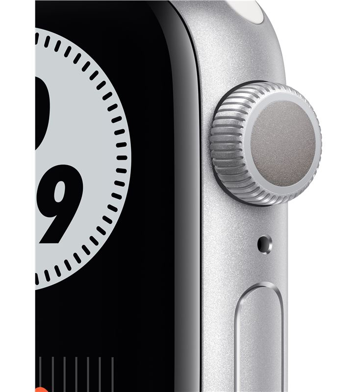 Apple M00T3TY/A watch s6 40mm gps nike caja aluminio con correa platino puro y negro - 85936651_1917162052