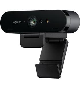 Webcam Logitech brío - videoconferencia 4k uhd@30fps - enfoque automático - 960-001106 - LOG-WEBCAM 960-001106