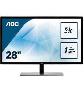 Aoc U2879VF monitor 28''/ 4k/ negro plata Monitores - U2879VF