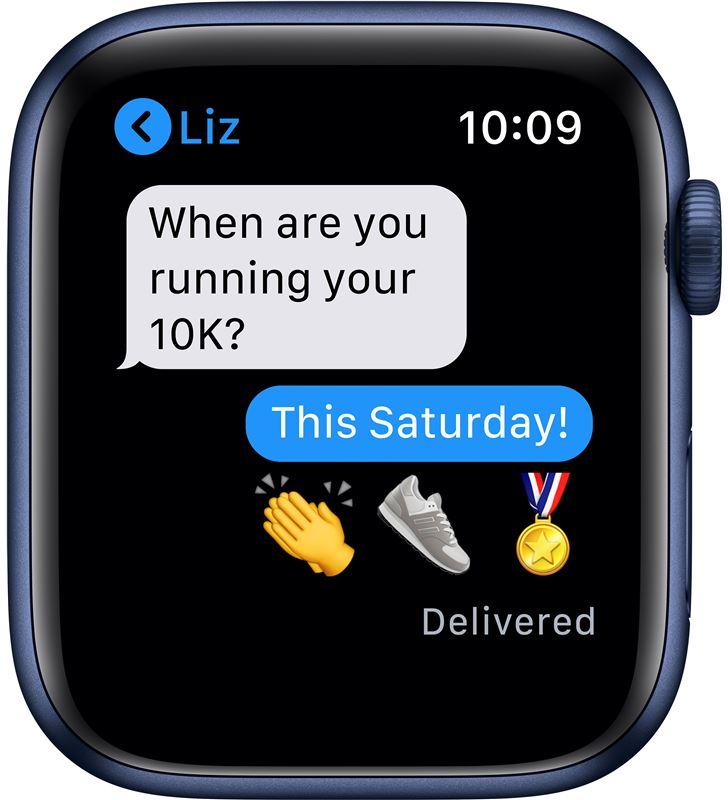 Apple M09A3TY/A watch s6 44mm gps cellular caja aluminio azul con correa azul marino - 85936640_6383549536