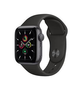 Apple watch se 40mm gps caja aluminio gris espacial con correa negra sport MYDP2TY/A - MYDP2TYA