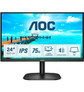 Monitor Aoc 24B2XDA 23.8''/ full hd/ multimedia/ negro - 24B2XDA