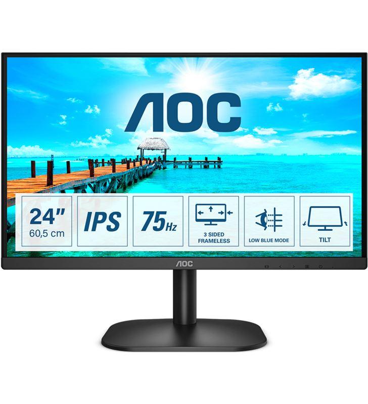 Aoc 24B2XDA monitor 23.8''/ full hd/ multimedia/ negro - 24B2XDA