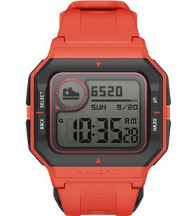Reloj inteligente huami Amazfit neo naranja - control salud/sueño - notific W2001OV3N - W2001OV3N