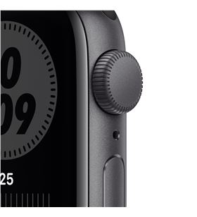 Apple watch se 40mm gps nike caja aluminio gris espacial con correa antraci MYYF2TY/A - MYYF2TYA
