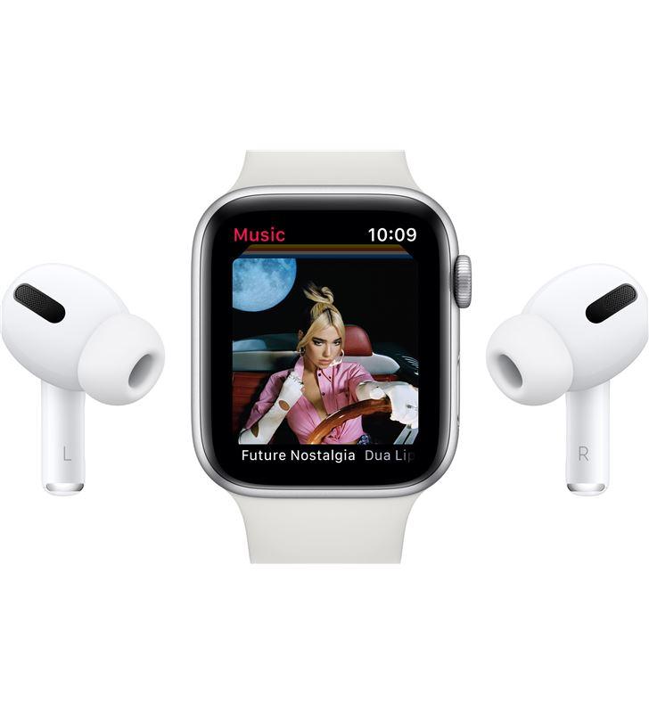 Apple watch s6 40mm gps caja aluminio oro con correa rosa arena sport band MG123TY/A - 85936658_2379751051
