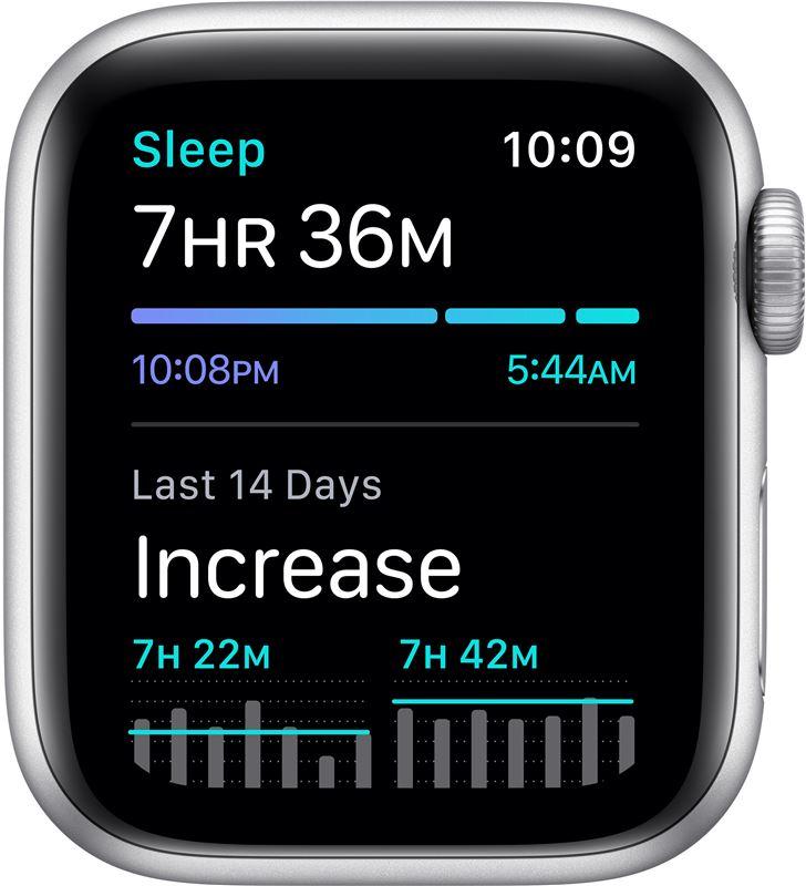 Apple watch se 40mm gps nike caja aluminio con correa platino y negra nike MYYD2TY/A - 85937401_3135043613