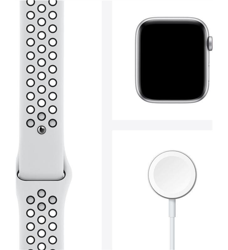 Apple MG083TY/A watch se 44mm gps cellular nike caja aluminio con correa platino y ne - 85936633_4278522409
