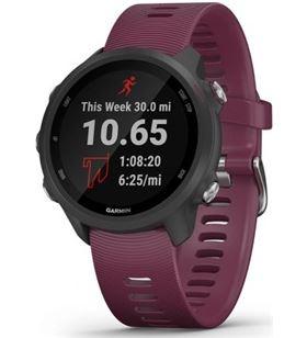 Reloj deportivo con gps Garmin forerunner 245 burdeos - pantalla color 3.04 010-02120-11 - 010-02120-11