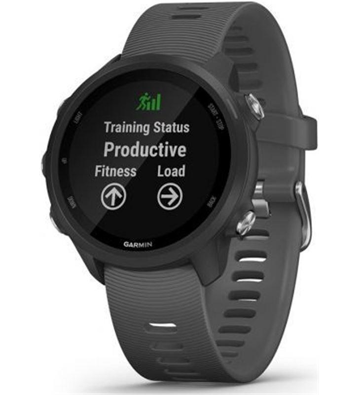 Reloj deportivo con gps Garmin forerunner 245 gris - pantalla color 3.04cm 010-02120-10 - 010-02120-10