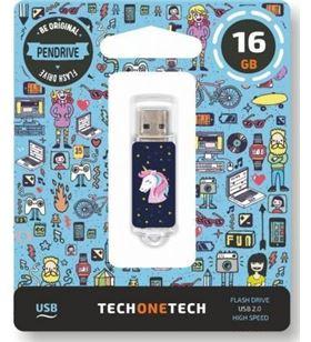 Tech 4012-16 pendrive one unicornio dream 16gb - usb 2.0 - TEC4012-16