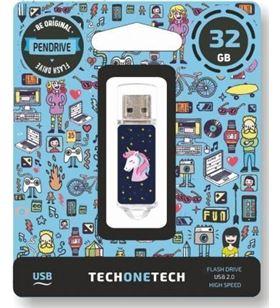 Pendrive Tech one Tech unicornio dream 32gb - usb 2.0 TEC4012-32 - TEC4012-32