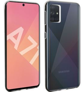 Akashi transparente funda carcasa trasera silicona Samsung galaxy A71 - +22833