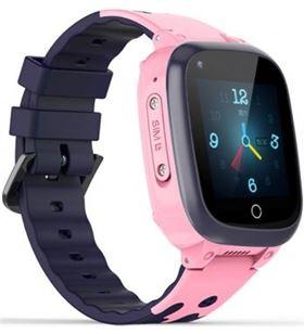 Reloj inteligente con localizador para niños Innjoo kids watch 4g pink - pa IJ-KIDS WA 4G P - IJ-KIDS WA 4G PINK
