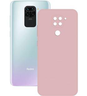Funda silk Xiaomi redmi note 9 rosa ksix B9089SLK16 - CONB9089SLK16