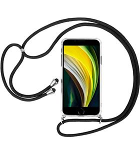 Akashi funda silicona transparente con cuerda antishock colgante Apple ipho IPH 7/8/SE FUND - +23179