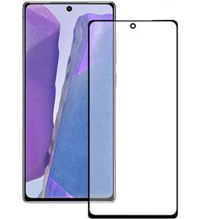 Protector pantalla extreme ksix Samsung galaxy note 20 borde negro B8657SC07N - B8657SC07N