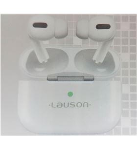 Lauson EH228 blanco auriculares inalámbricos bluetooth 5.0 con estuche bate - +23231