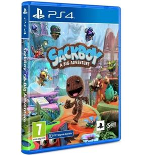 Sony 9821229 juego para consola ps4 sackboy: a big adventure! - 9821229