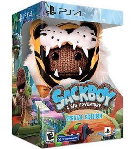 Sony 9859321 juego para consola ps4 sackboy: a big adventure! - edicion especial - 9859321