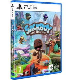Sony 9826927 juego para consola ps5 sackboy: a big adventure! - 9826927
