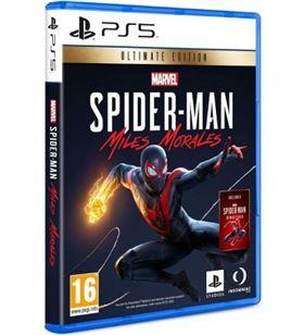 Sony 9802891 juego para consola ps5 marvel's spider-man miles morales ultimate edit - 9802891