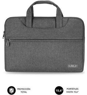 Sihogar.com maletín subblim business laptop sleeve para portátiles hasta 15.6''/ cinta p sub-ls-1bs0101 - SUB-MAL LS-1BS0101