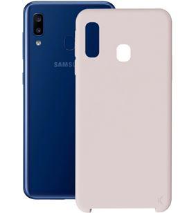 Funda soft ksix B8628COR16 Samsung galaxy a20 silicona rosa - B8628COR16