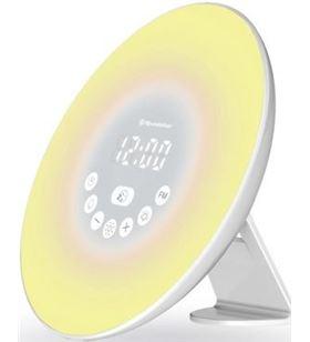 Sihogar.com reloj despertador roadstar clr-600 light - display lcd - 1 alarma - 6 sonid - CLR-600 LIGHT