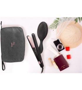 Sihogar.com set de viaje jocca 1489 plancha de pelo / cepillo de pelo y neceser - JOC-PAE-PLP 1489