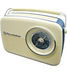 Sihogar.com radio vintage roadstar tra-1957/cr/ crema tra-1957n/cr - TRA-1957NCR