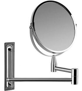 Orbegozo -ESP ESP4000 espejo cosmético de pared esp 4000/ doble cara/ ø17cm 17563 - ORB-ESP ESP4000